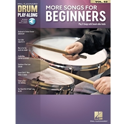 Drum Play-along More Songs for Beginners