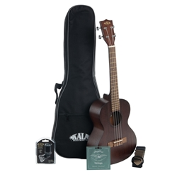 Kala Satin Mahogany Tenor Bundle