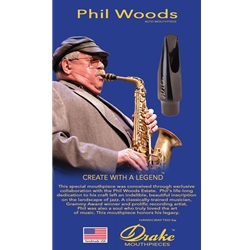 Drake Phil Woods Alto Mouthpiece