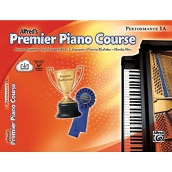 Premier Piano, Performance 1A (Book+CD)