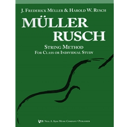 Muller Rusch, Double Bass Bk. 1