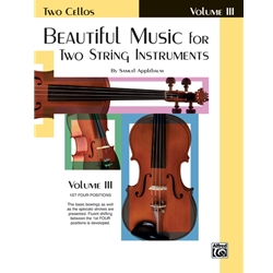 Beautiful Music, Cello Vol. 3