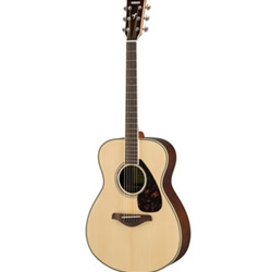 Yamaha FS830 Small Body Solid Top Acoustic Guitar (3 colors)