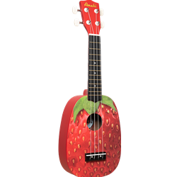 Amati Amahi Strawberry Soprano Uke