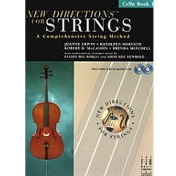 New Directions for Strings, Cello Bk. 1