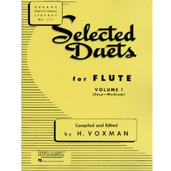 Selected Duets, Flute Vol. 1