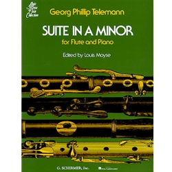 Suite in A Minor - Flute & Piano