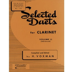 Selected Duets, Clarinet, Vol. 2