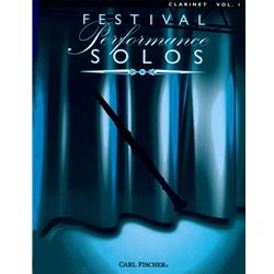 Festival Performance Solos - Clarinet Vol 1