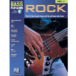 Rock (Bass Play-Along Vol. 1)
