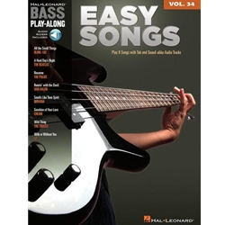 Easy Songs Bass Vol 34