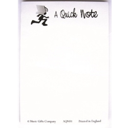 Music Gifts Cmp A Quick Note - NotePad