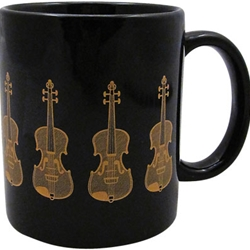 Aim/Albert Elov Black and Gold Coffee Mug (6 Styles)