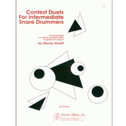 Contest Duets for Inter. Snare Drummers
